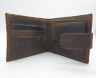 Immagine di Portafoglio orizzontale con chiusura a bottone