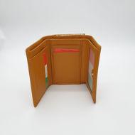 Immagine di Portafoglio trifolder piccolo colorato con clip