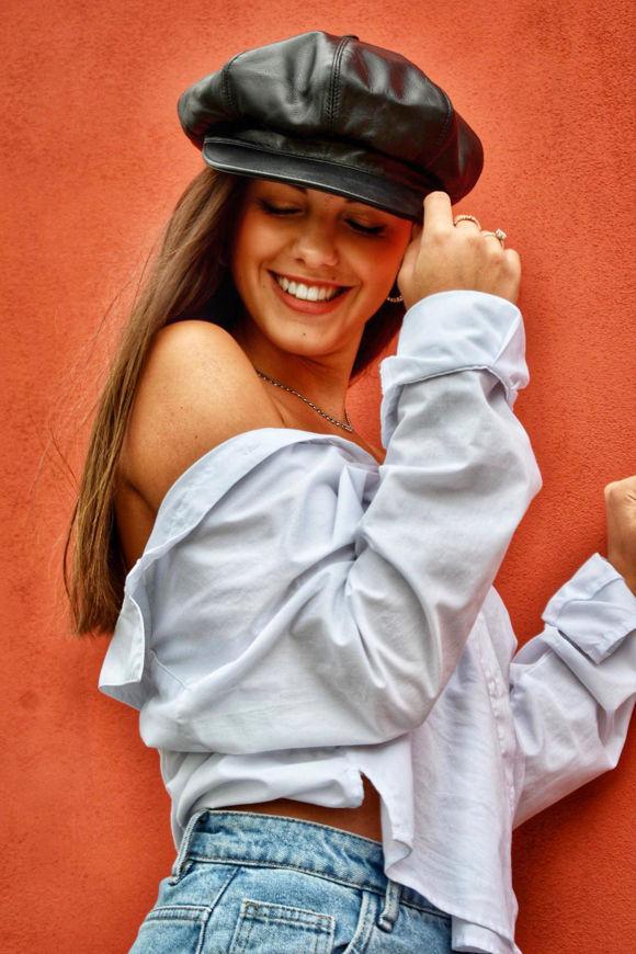Immagine di Cappello Raffaello in Vera Pelle